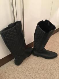 Next black boots size 6