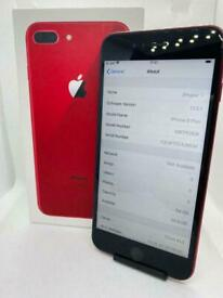 iPhone 8 Plus Red Unlocked **8/10 condition**
