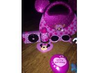 Minnie Mouse toy bundle