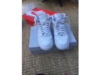Men's Nike Air Force 1 high top trainers size 8.5
