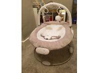 Baby bouncer -East Coast nursery vibrating & musical bouncer chair