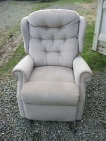 FIRESIDE RECLINER ARMCHAIR. VERY EASY TO USE, OUTER LEVER. VERY COMFORTABLE. VIEW/DELIVERY AVAILABLE