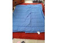 Two king size single sleeping bags