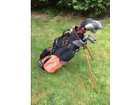 Titleist Golf Clubs and Bag