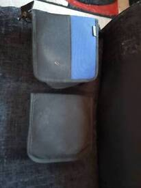 2 x CD Case Holders Music Zip Up