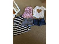 Girls summer clothes bundle - age 6