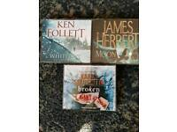 12 audio books, mint condition