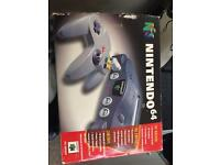 N64 plus games working and boxed