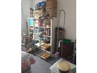Argos HOME clothes rail with 3 shelves