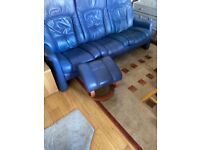 3 seater reclining Sofa. (Stressless?)