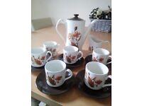 Vintage Johnson Brothers Coffee Set