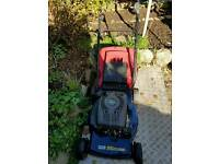 Mac petrol engine lawnmower