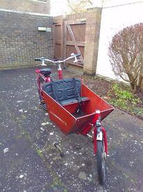 dutch bakfiest cargobike