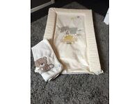Mothercare baby changing mat with towel liner