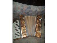Vintage Mastertone Piano Accordian