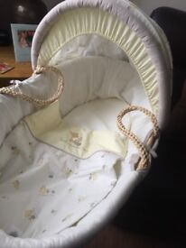 Mother care Winnie the Pooh Moses Basket