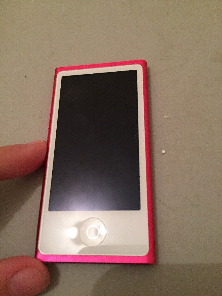 Pink limited edition iPod nano only used once REDUCED for quick sale