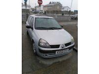 -QUICK SALE-2002 Renault Clio Hatchback 1.4 Petrol 5Dr AUTOMATIC