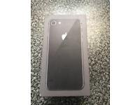 iPhone 8 256GB SPACE GRAY loucked to EE