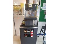 WMF Bistro with coin machine + Milk Fridge + Stand - Bean to cup - Commercial