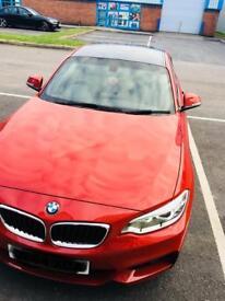 BMW 218d M Sport coupe