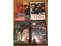 4 DVD's my own private Idaho +3 as pictured