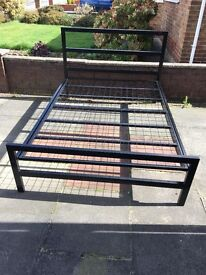 Immaculate Double Bed and Mattress. Choose From Frame Bed or 2 Drawer Divan. Bargain!!