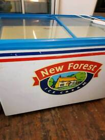 Commercial display chest freezer p w o free delivery