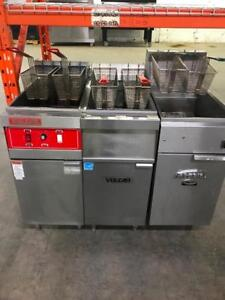 3 electric fryers ( like new ) ! Commercial stainless