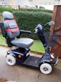 Mobility Scooter at Wooler