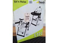 Hauck Sit n Relax 2-in-1 highchair/bouncer