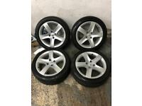 "17"" Genuine Rinjanis, wheels alloys vortex cyclone volcane 306 207 308 hdi d turbo 405 406 peugeot"