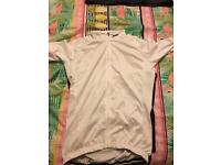 Fineou cycling jersey in white size medium