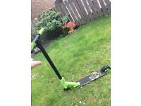 Xtreme stunt scooter green