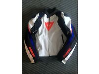 Dainese Motorcycle Jacket ( Colours are great for Suzuki GSXR riders!) Size Euro 56 ( UK 44/ 46)