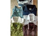 Men's clothing bundle size Med-Large