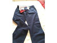 Quality men's Trousers. BODEN. Dark Royal Blue 34R