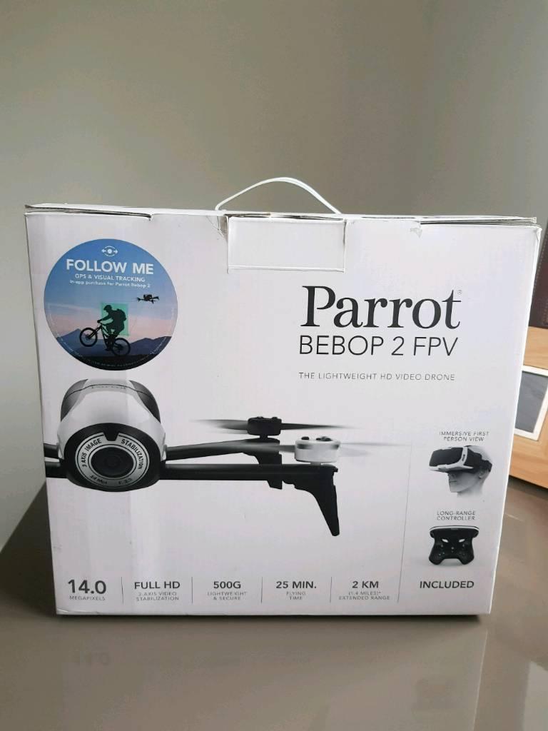 NEW PARROT BEBOP 2 FPV DRONE SKYCONTROLLER | in Houston, Renfrewshire |  Gumtree