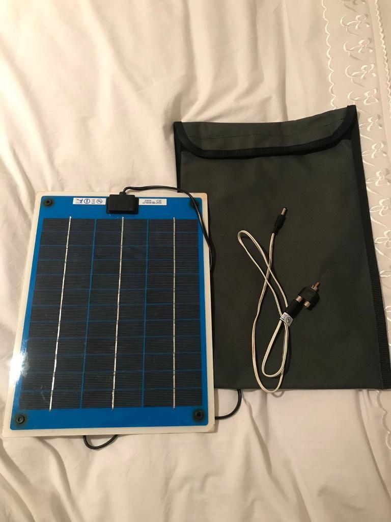 Angling Technics slim line solar panel carp fishing