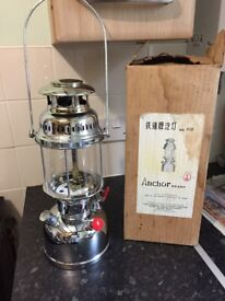 Anchor Paraffin Kerosene Tilley Type Pressure Lamp