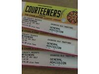 3 Courteeners Tickets Old Trafford