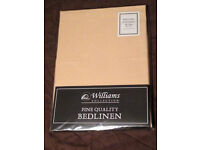 2 x Williams Collection Bedlinen Single bed Fitted Sheet