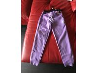 Girls converse jogging trousers brand new age 8-10 years £10