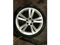 Seat Ibiza alloys with tyres size 215 40 r17