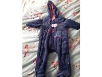 6-9 Mothercare snow suit