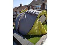 Decathlon 3 man tent and equipment