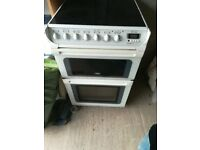 Creda CER550 electric free standing oven and hob