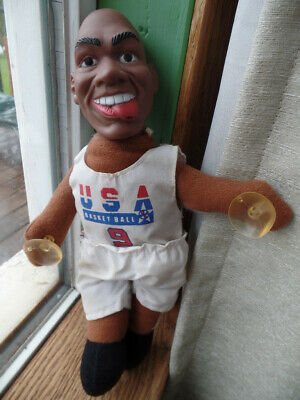1992 Michael Jordan #9 USA Olympic Basketball Dream Team RARE!! Cling Plush Doll