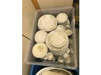 Plates, bowls, saucers and cups