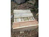 Decking spindles for sale 100 less than half price £1